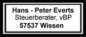 Steuerberater Everts Logo